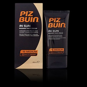Imagen de PIZ BUIN IN SUN radiant face cream SPF15 40 ml