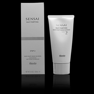 Imagen de SENSAI SILKY mud soap wash&mask 125 ml