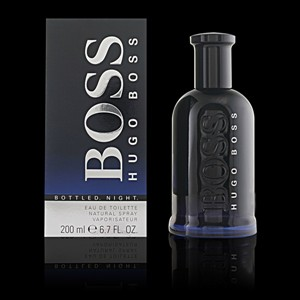 Imagen de BOSS BOTTLED NIGHT eau de toilette vaporizador 200 ml